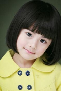 超萌小女孩发型设计图片 小萝莉短发魅力没法挡