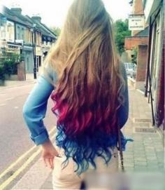 2014流行女染发颜色 渐变色染色发型大流行