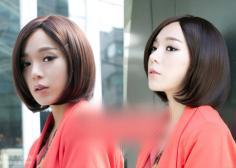 2014最新韩国短发发型 做一个优雅氧气美女
