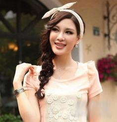 斜刘海适合什么脸型 五种脸型与发型的搭配