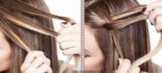 斜长的韩式刘海发型设计 让你立马转型变身温婉淑女