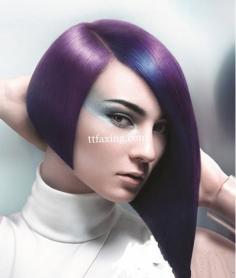 沙宣波波头发型图片欣赏 打造灵动个性极富层次感