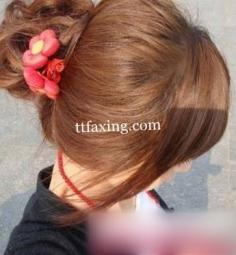 韩式花苞头发型扎法推荐 简单易学好掌握