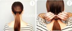 韩式发型扎发步骤图 倾力打造纯美气质