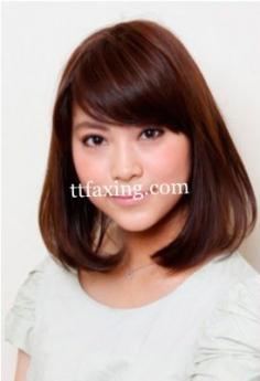 圆脸适合什么短发 圆脸短发发型图片分享