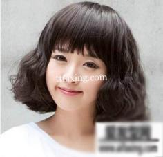 韩式短发蛋卷头图片 让你俏皮俊美很有范儿