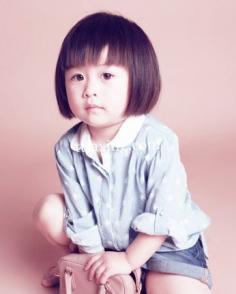 最新潮儿童短发发型图片 萌宠短发惹人怜爱