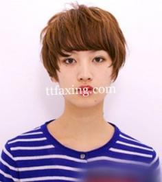 盘点方脸适合的短发发型图片 短发控看过来