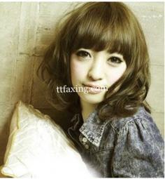 齐刘海发型图片欣赏 打造青春靓丽可爱范儿