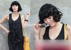 韩式荷叶头短发发型推荐 唯美发型让你魅力无限