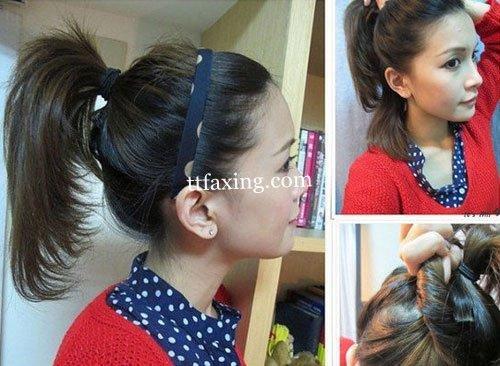 简单发型扎法步骤 打造属于你的个性马尾辫