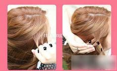 夏日清凉蜈蚣辫的编法图解 教你扎好长头发