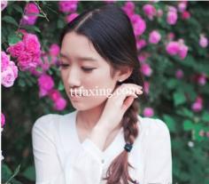 韩式编发发型图片 春季女神必备