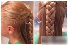 小女孩发型绑扎方法推荐 创意小马尾大放光彩
