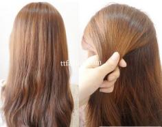精选中长发盘发发型步骤 简单几步扎出漂亮发型