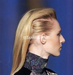 超模简单发型 名模教你如何梳头发