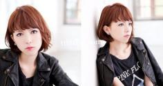 最新女生中短发烫发发型 打造轻松灵动卷发
