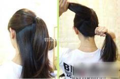 夏季发型中长发盘发 一分钟打造大气发型