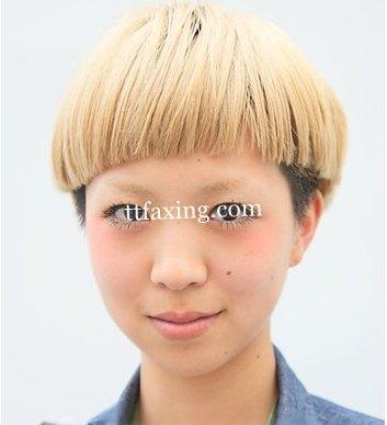 9岁女儿童短发型
