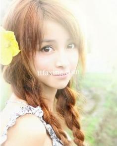 韩式麻花辫发型图片推荐 打造唯美淑女范儿