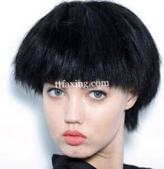 2014秀场发型 米兰秀场教你玩转最新短发发型