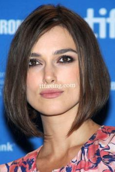 女生中长发发型图片 爱美MM不容错过