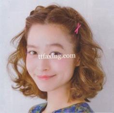 简单盘发发型扎法 好看又得体