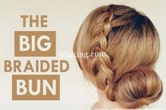 跟小编学习简约时尚简单盘发发型扎法