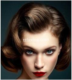 复古新娘发型图片 点亮怀旧青春