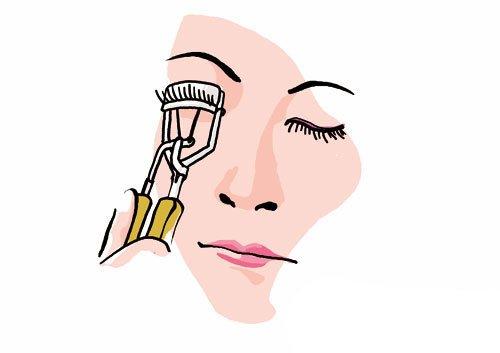 新手假睫毛怎么贴又快又好图解 如何贴假睫毛的步骤