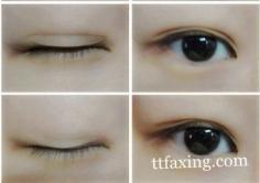 内双眼皮化妆技巧 教你变成双眼皮