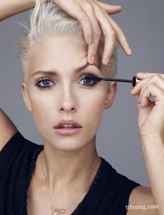 睫毛膏的用法 巧用睫毛膏从此告别假睫毛
