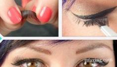 4种常见假睫毛贴法技巧 教你怎么贴假睫毛最接近完美