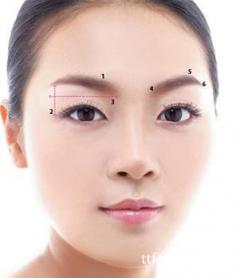 简单修眉技巧易只用3分钟 教你打造标准眉形