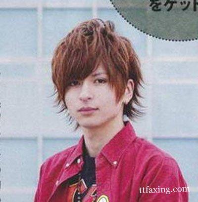 日系男生发型图片赏析 让你轻松成为时尚潮人