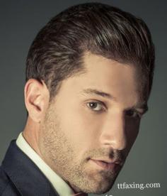 长脸男生适合的短发发型图片 帅气成熟男士为你展现熟男魅力