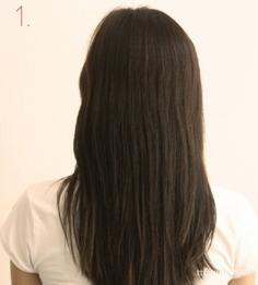 掌握铅笔盘发技巧 不用橡皮筋轻松盘发