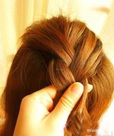 编发教程图解步骤 简单步骤编出最炫发型