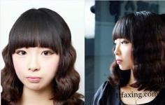 最时尚齐刘海发型图 刘海怎么扎好看适合什么脸型