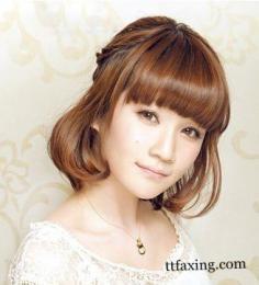 告诉你长圆脸适合什么刘海 韩式发型减龄又修颜