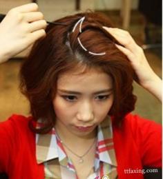 麻花辫的编发图解 简易浪漫麻花辫扎发