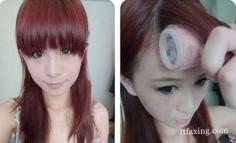 夏季怎样用卷发器弄刘海 只需5步让你轻松搞定刘海