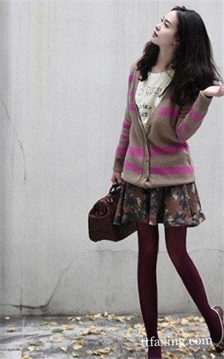 时尚春秋彩色丝袜怎么搭配 时尚潮流随心搭配都性感