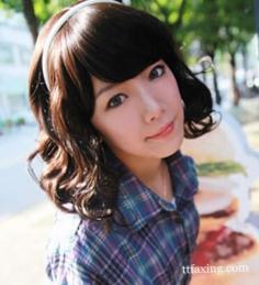 韩式卷发发型图片大全 少女范女神范信手拈来