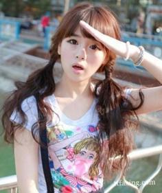 韩式发型扎法中长发 小编推荐多款发型扎法
