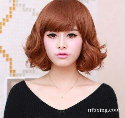 中短发烫发发型精选 尽显干练气质的中短发烫发