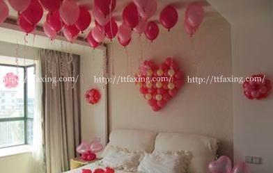浪漫又温馨 怎么用气球布置新房