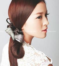 5款古典新娘发型 带你领略古代女子的魅力