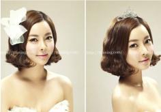 韩式新娘发型图片 准新娘必备哦