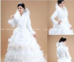 新娘冬季婚纱完美搭配方法 新年更完美动人